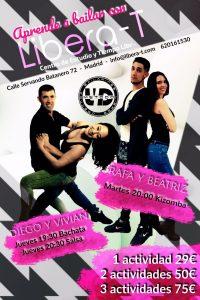 bailar salsa, bachata y kizomba en Libera-t - Libera-t centro de estudio y tiempo libre